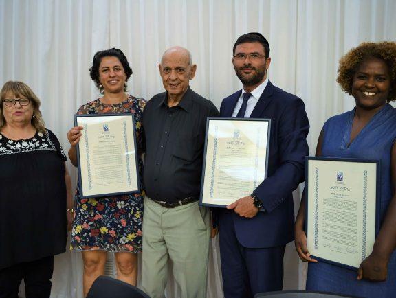 Congratulations! Rawnak Natour Recieved the Sami Michael Award