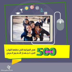 500 מיון לבתי ספר ערבים